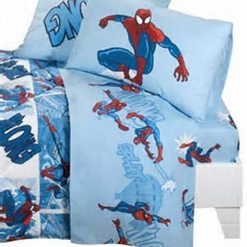 Completo lenzuola singolo 1 piazza Caleffi Spider-man