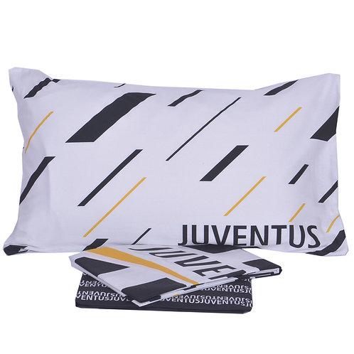 """Completo lenzuola singolo 1 p.za """"F.C. Juventus"""" Prodotto Ufficiale Logo nuovo!!"""