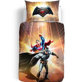 Trapuntino/Copriletto trapuntato singolo 1 p.za Caleffi mod. Batman vs Superman