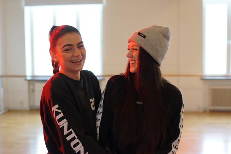 Alva Hansen & Emma Sundbergh