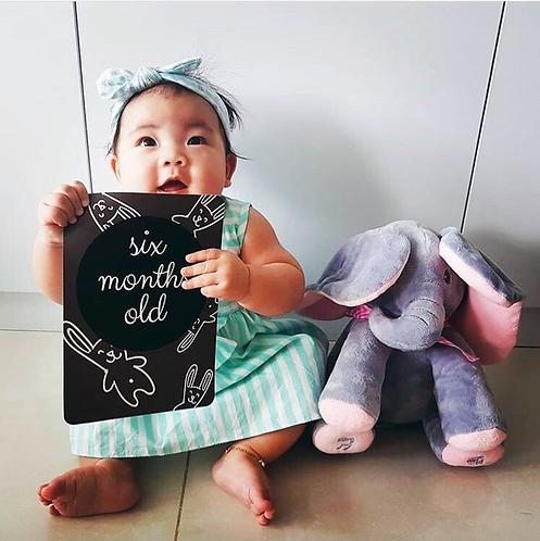 Generic Baby Milestone Cards