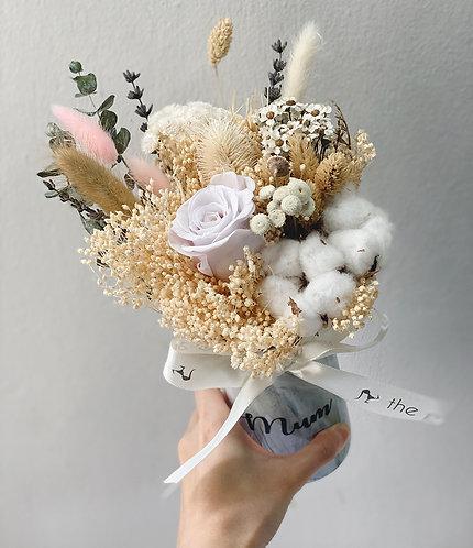 Coralia Personalised Marble Vase