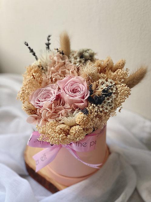 Pink Everlasting Bloom Box