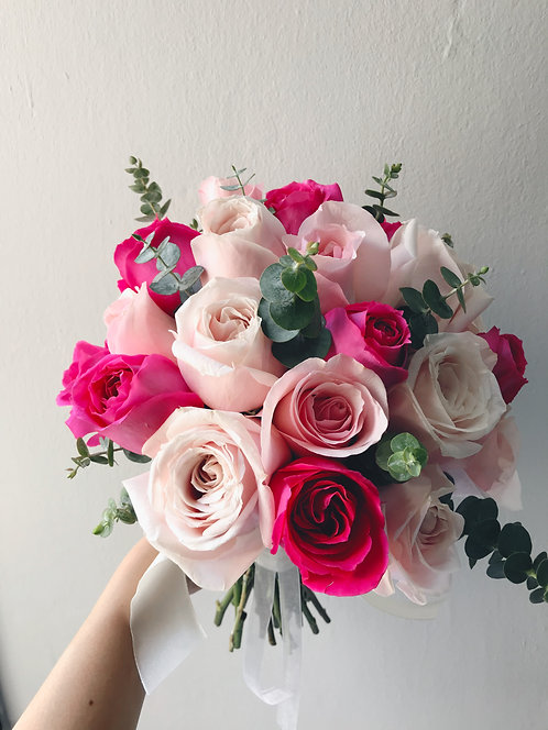 Bridal Bouquet - Pinks