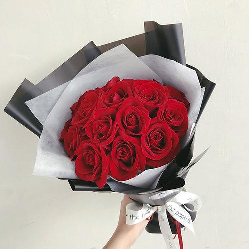 20 Stalks Red Roses