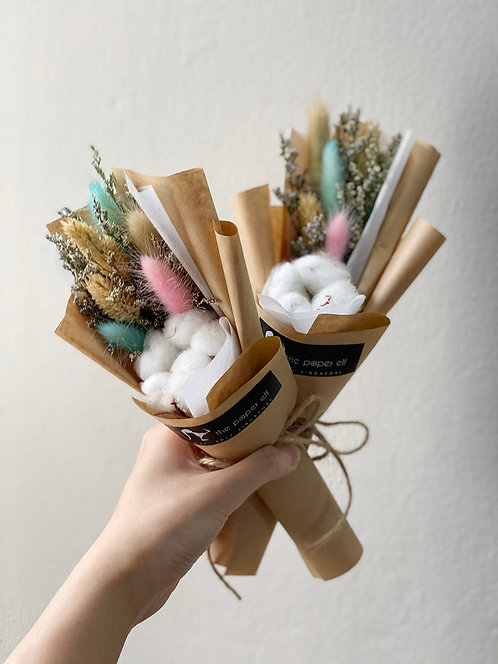 Petite Paddlepop Dried Flowers Bouquet