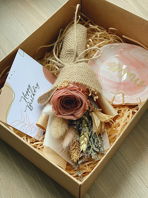 Cappuccino Rose Gift Box