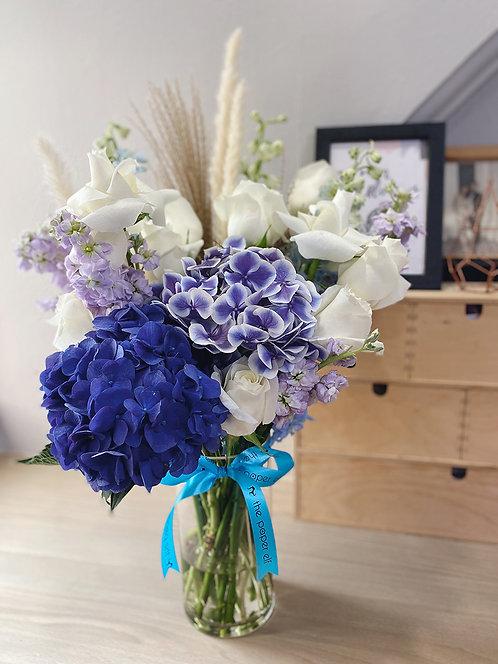 Lilac Blue Blossoms