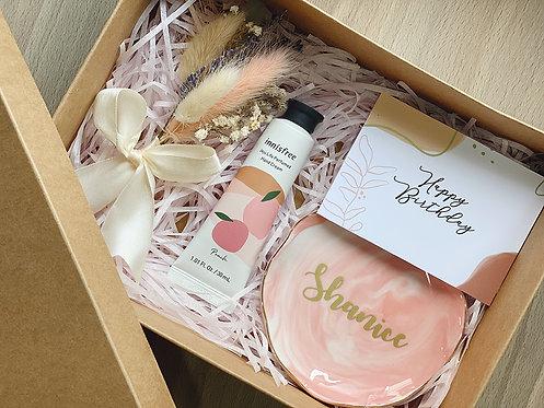 Pretty In Peach Gift Box