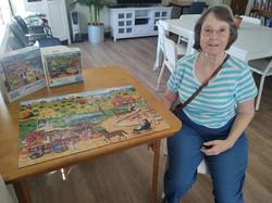 Liz Puzzle Lounge