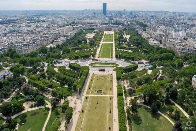 Torre Eiffel_Paris vista do alto 1