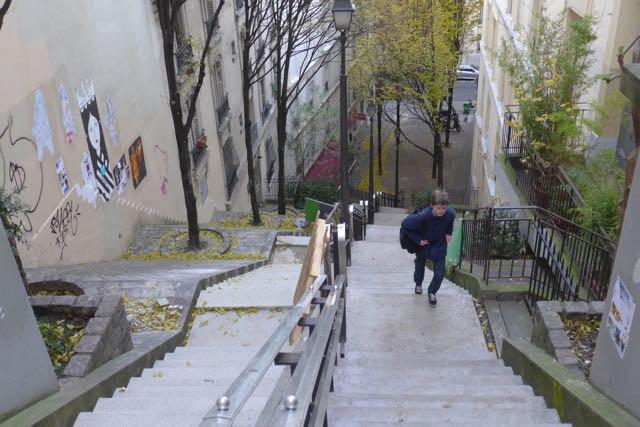 Escadarias Caulaincourt_A Viagem Certa - 1