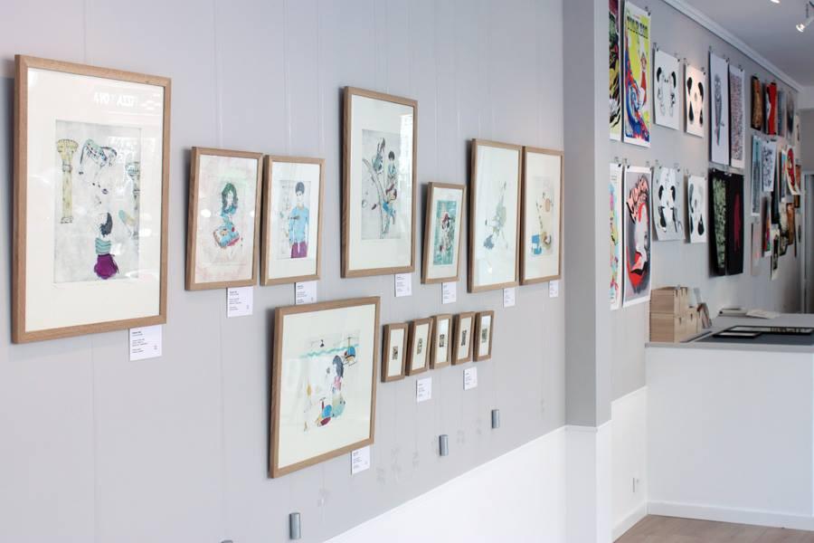 Galerie Loeil ouvert 1