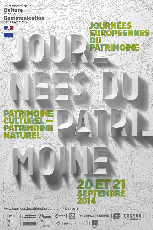Affiche Journee Patrimoine Paris