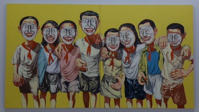 Masks Zeng Fanzhi