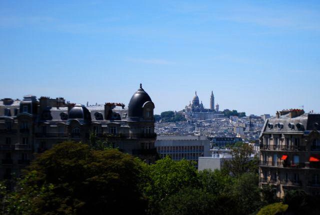 Buttes Chaumont_Paris vista do alto 1