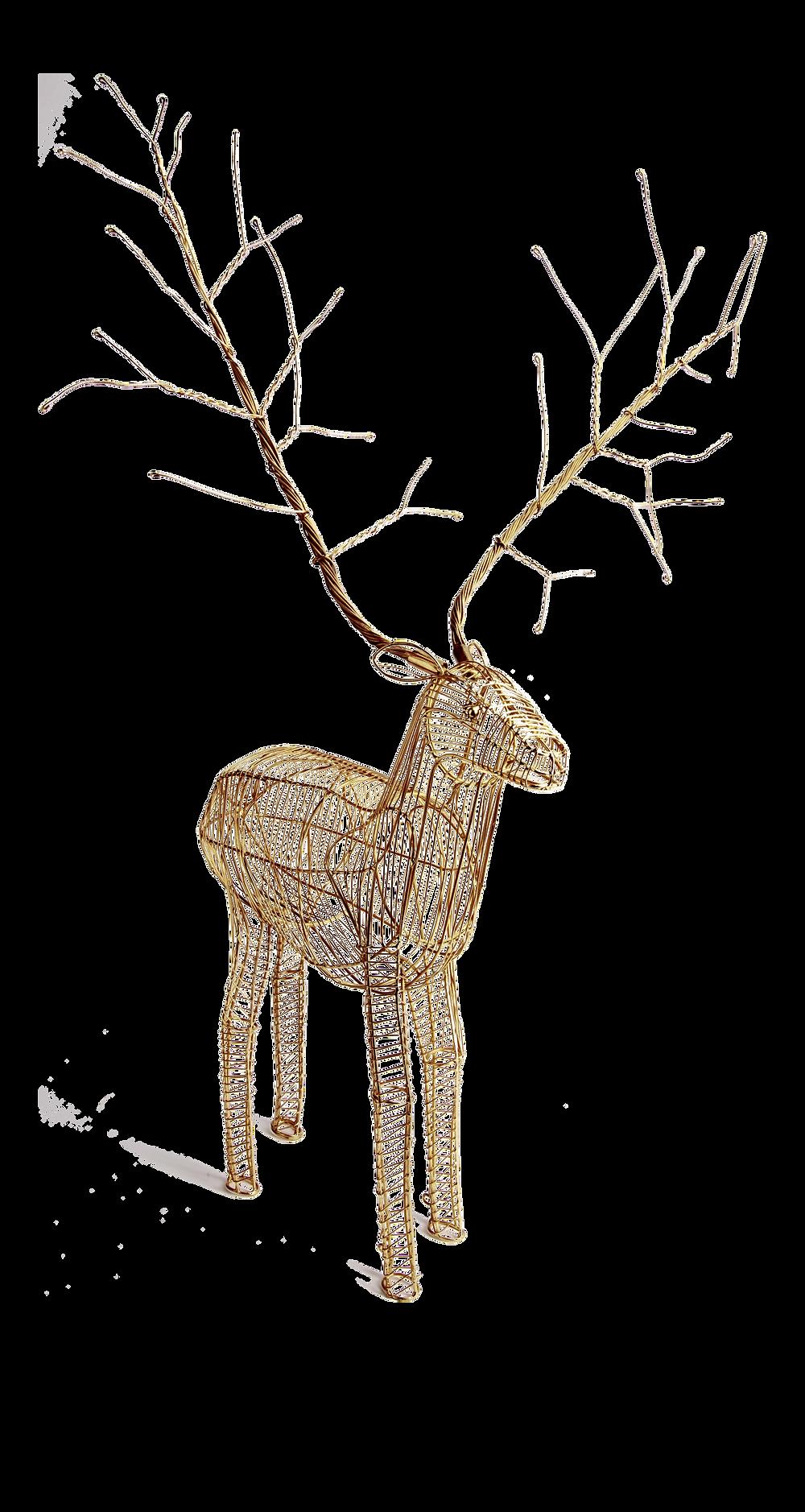 decoration-de-noel-renne-dore-1_250386