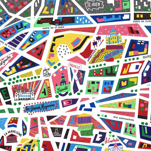 Paris-Illustrated-Map_Antoine-Corbineau_Zoom02-1000px