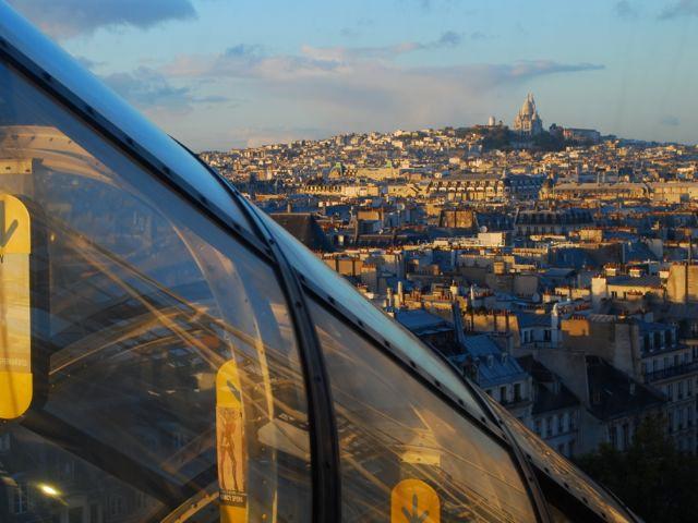 Pompidou_Paris vista do alto 1