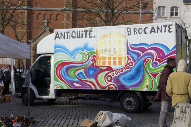 Brocante Bruxelas02