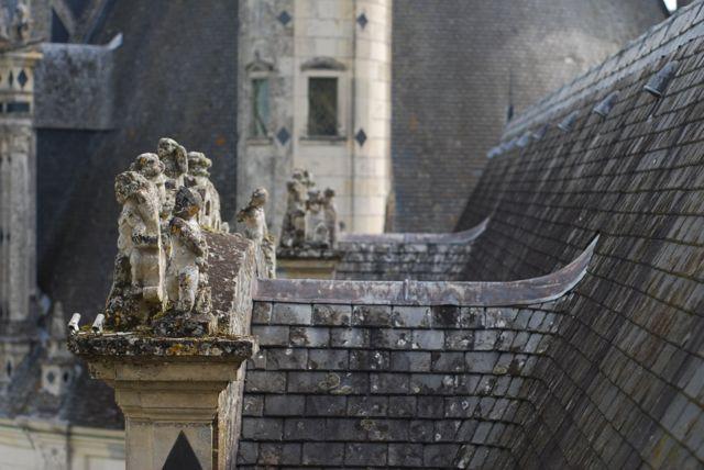 telhados Chambord detalhes