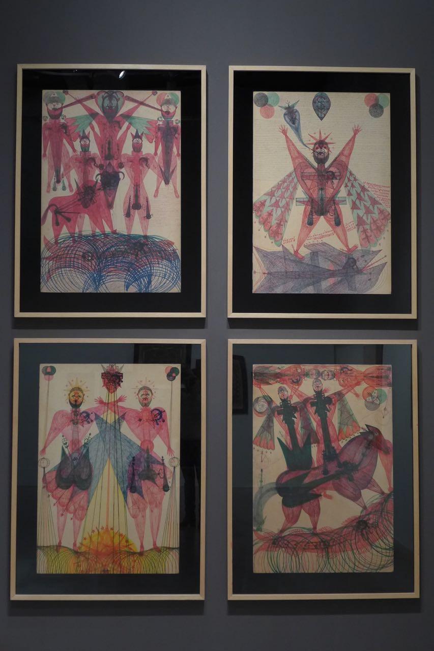 Art Brut Maison Rouge A Viagem Certa 6