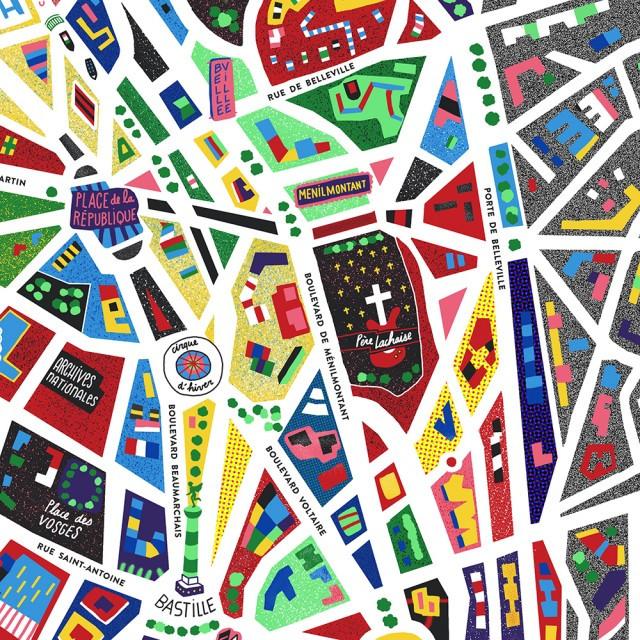 Paris-Illustrated-Map_Antoine-Corbineau_Zoom03-1000px
