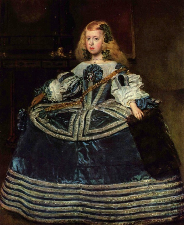 Diego_Velázquez_Infante Marguerite