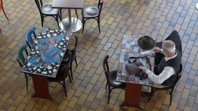 Café Halle Saint-Pierre_A Viagem Certa