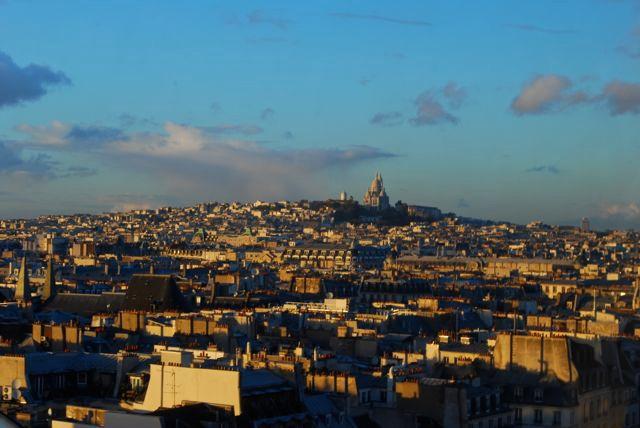 Pompidou_Paris vista do alto 2