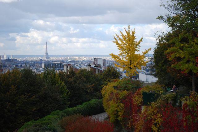 Parc de Belleville_Paris vista do alto 4
