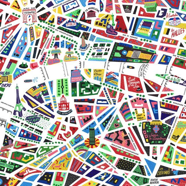 Paris-Illustrated-Map_Antoine-Corbineau_Zoom-1000px