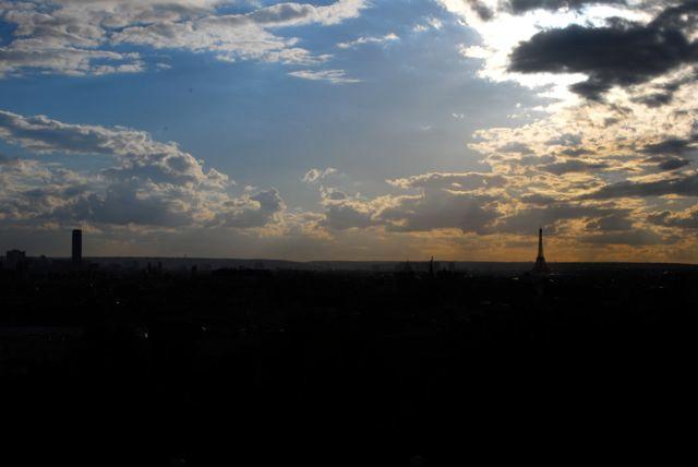 parc de belleville_PAris vista do Alto 2