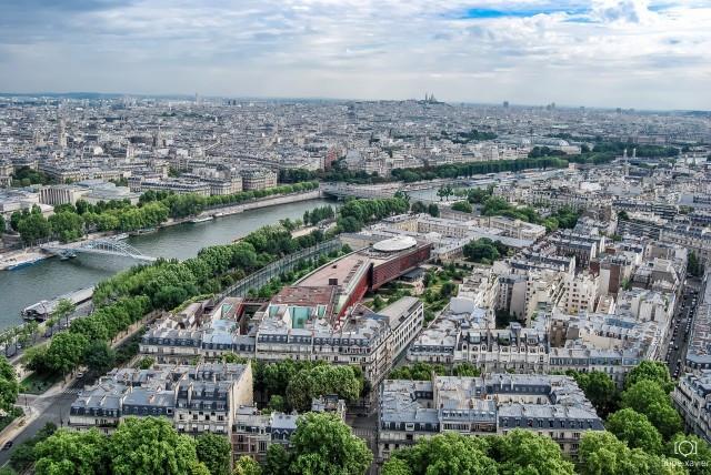 Torre Eiffel_ Paris vista do alto 5