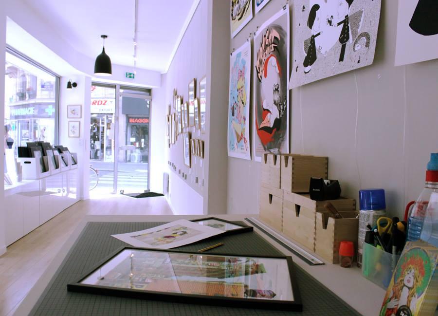 Galerie Loeil ouvert 3