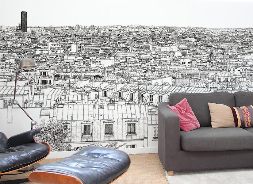 Oh-My-Wall-papier-peint-Vue-de-Paris-Tour-Eiffel-Concorde-Montparnasse-Thomas-Lable-alias-Materz