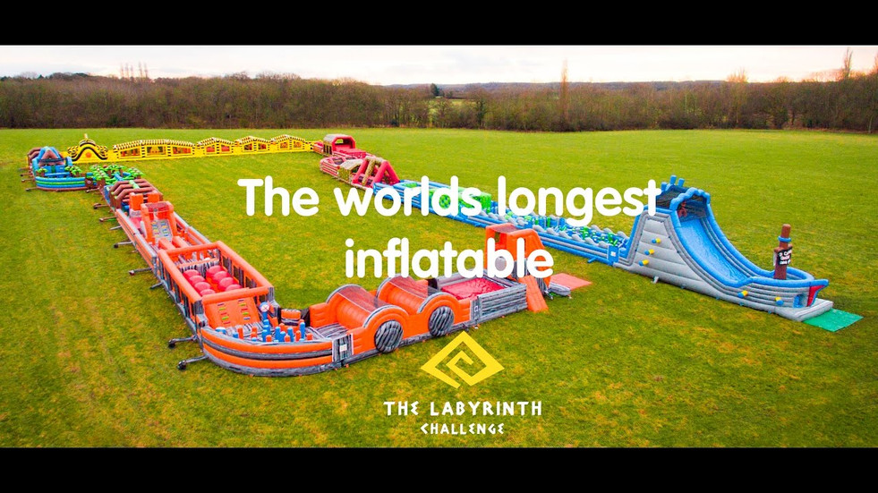 The Labyrinth Challenge - The World's Longest Inflatable