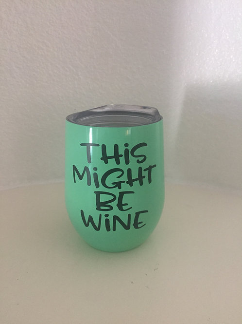 Novelty Wine Tumblers