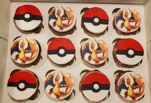 Pokemon Cupcakes VT