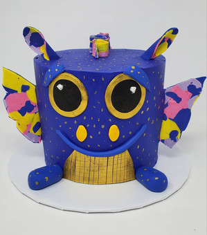 Plushy cake