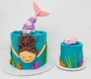 Mermaid Cake VT