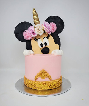 Minnie Mouse Cake VT