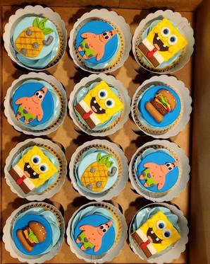 Spongebob Cupcakes VT