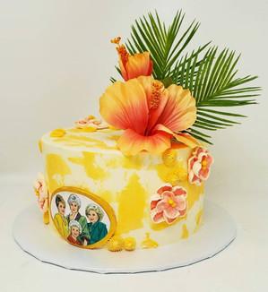 Golden girls cake