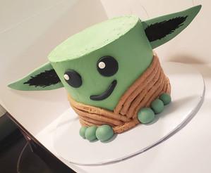 Baby Yoda Cake VT
