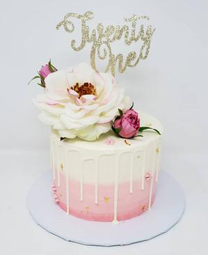 21st birthday cake VT