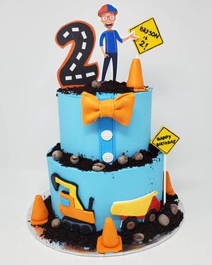 Blippi Cake VT