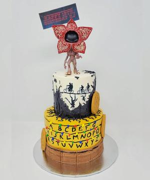 Stranger Things Cake VT