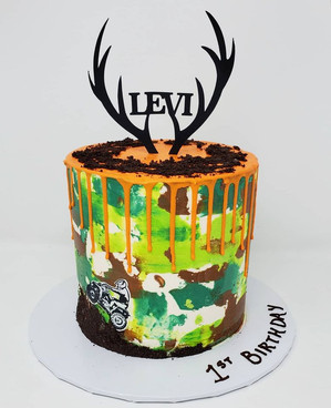 Camo Hunting Cake VT