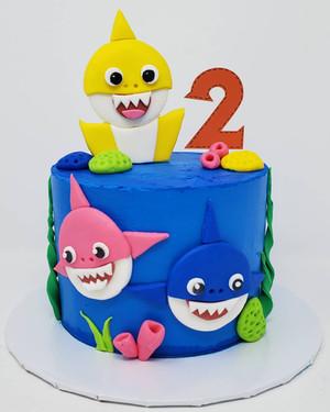 Baby Shark Cake VT